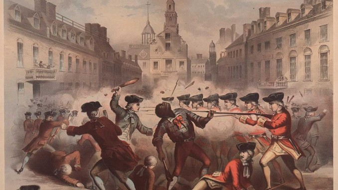 the role of the british soldiers in the boston massacre of 1770 The boston massacre was the killing of five colonists by british soldiers on march 5, 1770 it was the culmination of civilian-military tensions that had been growing since royal troops first appeared in massachusetts in october 1768 to enforce the heavy tax burden imposed by the townshend acts.