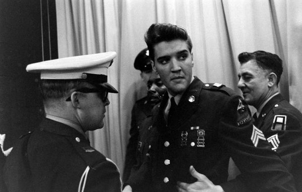 ELVIS PRESLEY FOR HIS INDUCTION INTO U.S. ARMY MEMPHIS 3