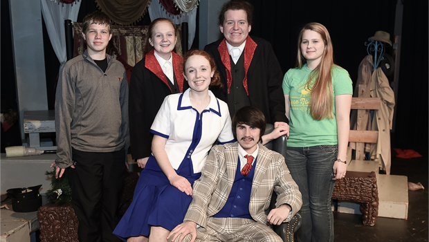 The 39 Steps' advances in one-act contest – Bowie News