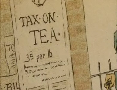 tea work associated with 1773