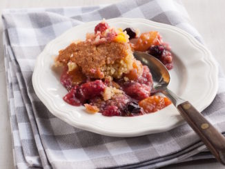 PeachBerryCobblerPlatedB