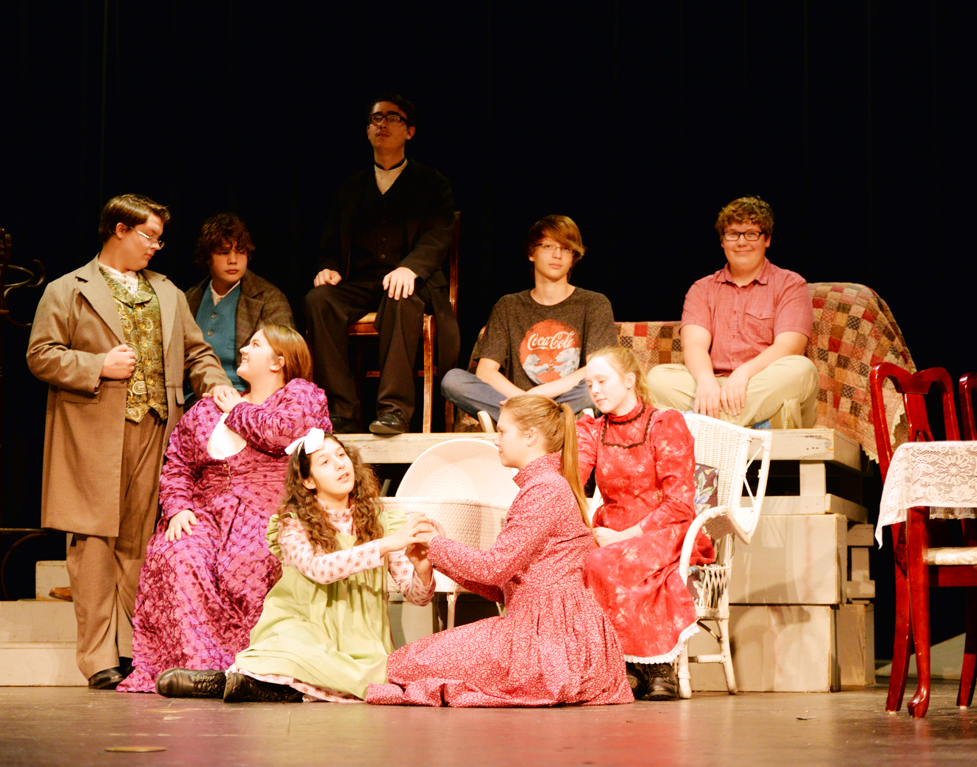 The Miracle Worker Nocona OAP Group Picture for web