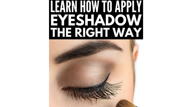 How to properly apply eye makeup