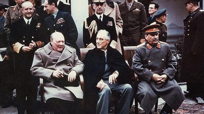 1945 The Yalta Conference Commences Bowie News