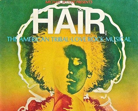 Image result for musical hair 1968