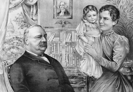 1893 President Cleveland S Child Is Born In The White House Bowie News